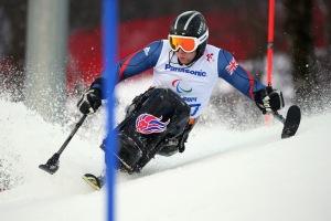 Ben Sneesby Paralympics Sochi 2014
